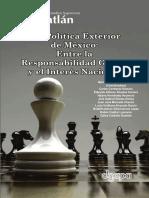 Libro Politica Exterior de México-Presentación