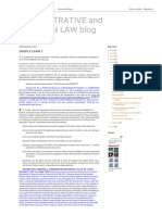 Administrative and Election Law Blog Sample Exam 2