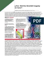 EPF Building Fire