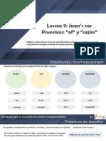 9. Juans car - Sts
