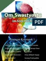 Presentasi Bahasa Bali