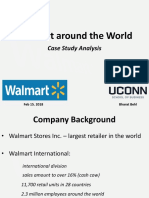 Walmart Around the World - Case Study