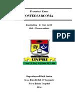 Case Osteosarcoma RPH