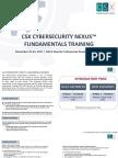 Csx Cybersecurity Nexus