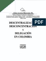 BELM-2979(Descentralización, Desconcentración y Delegación -Hernández)