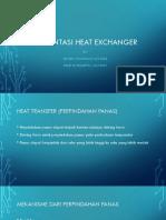 Presentasi Heat Exchanger