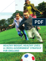 GBR 2008 Healthy Weight, Healthy Lives- A Cross-Government Strategy for England (Change4LifeSports)