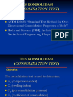 Consolidation Test1