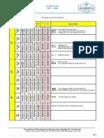 2017-2018 calendar to post in social media   school portal