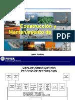 Construcción y Mantenimiento de Pozos, Jesús Jiménez, PDVSA.pdf