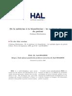 Rabeharisoa - 2009 - De La Médecine a La Biomédecine
