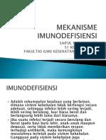 MEKANISME IMUNODEFISIENSI