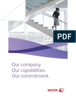 Xerox Fact Sheet Who We Are Today