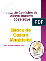 Plan de Comisión Enlace de Carrera Magisterial 2012