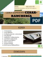 Cuenca sedimentaria Colombia - Cesar Ranchería