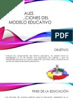 Principales Innovaciones DEL MODELO EDUCATIVO