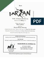 Tarzan The Stage Musical Bass