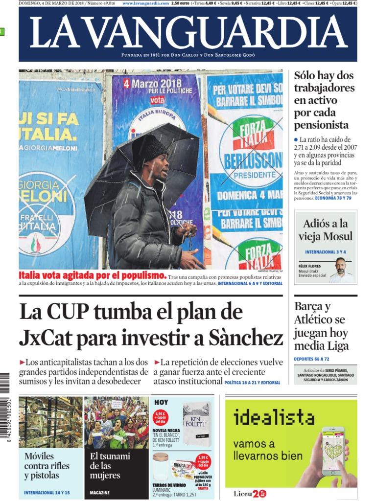 3b9b5b3d5 La Vanguardia [04-03-18]