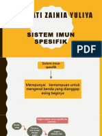 Ppt Sistem Imun Spesifik