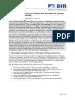 Leitfaden Zur Klassifizierung Von Gefahrgut Unter Dem Aspekt Der Aetzenden Wirkung Auf Lebendes Gewebe(1)