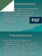 Enterobacteriaceae patogene