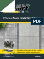 141103 RAMPF Concrete Stone Products Catalogue en Web