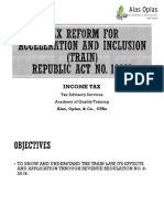 TRAIN Part 1 - Income Tax