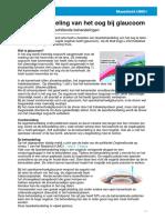 Laserbehandeling Van Het Oog Bij Glaucoom