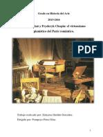 Ferenc Liszt y Fryderyk Chopin El Virtuosismo Pianistico Del Paris Romantico