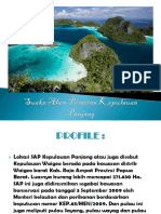 Suaka Alam Perairan Kepulauan Panjang