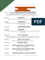 Programa Orokorra