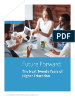Future Forward the Next 20 Years Higher Ed Rev
