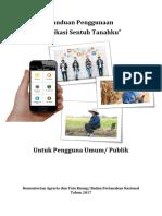 Panduan Penggunaan Aplikasi Sentuh Tanahku (Umum)