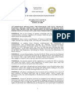 OrdinanceNo.24,Seriesof2005- Regulating the Purchase and Sale, Trade in of Mobile Phones