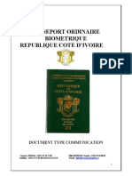 Passport Ordinaire Biometrique