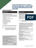 AIMB-766 Startup Manual Ed.1