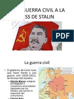 La URSS de Stalin