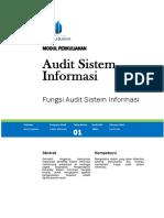 Modul Perkuliahan Audit Sistem Informasi