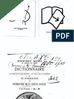 Dictionnaire d'orientalisme, d'occultisme et de psychologie ou dictionnaire de la science occulte 1 - A-H (Bosc, Ernest).pdf
