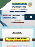 Slide(9) Transformer Protection