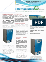 Blood Bank Refrigerator Portabel AC-DC