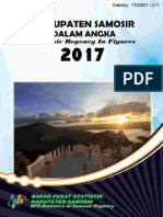 Samosir Dalam Angka 2017