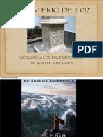 El Misterio Del 2.012 PDF