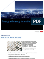 ABB Energy Efficiency Portfolio in Textile