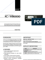 Icom IC-V8000 Instruction Manual