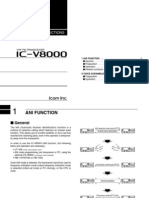 Icom IC-V8000 Optional Instruction Manual