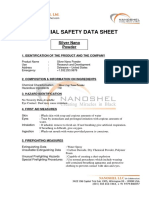 MSDS-Silver Nano Particles LH