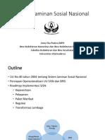 [4]Sistem Jaminan Sosial Nasional