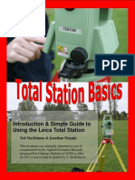Total Station Basics Introduction to Using the Leica Total Station