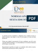 Presentación Implementación Normas APA2017 (Socializar)